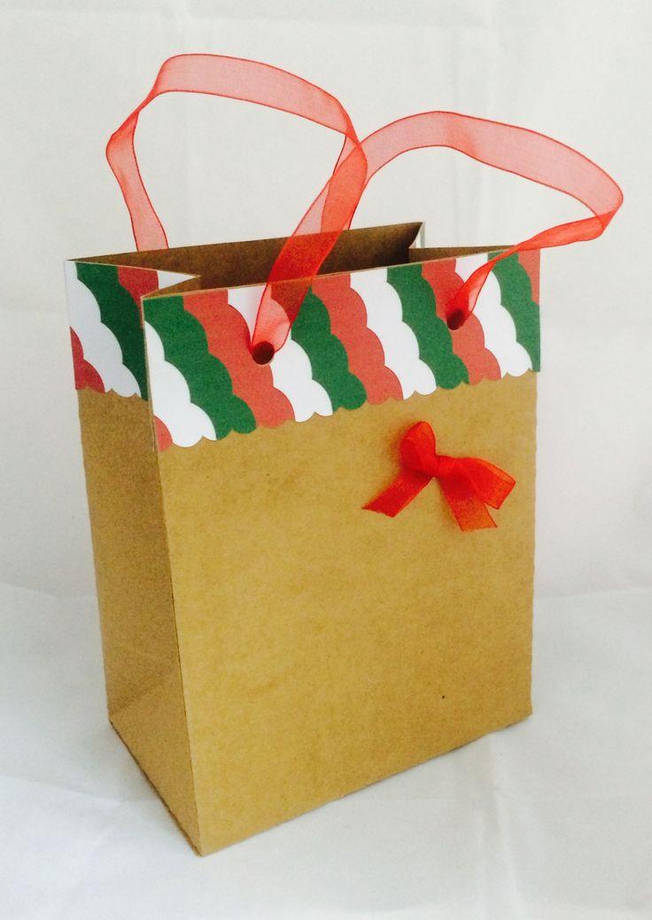 Bolsa para regalos hecha en Cameo