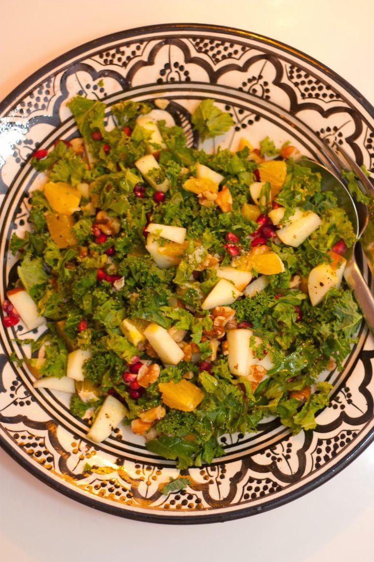 Gourmetmorsan: Grönkålssallad med julens smaker!