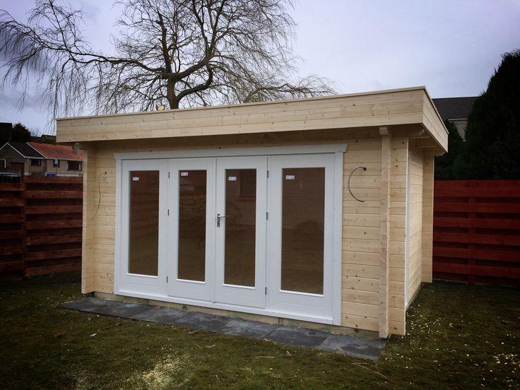 High Quality Log Cabins In Scotland, Summerhouses, Wooden Garages, BBQ Huts, Bertsch  Holzbau