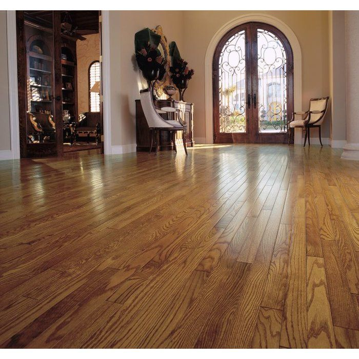 Oak 3 4 Thick X 2 1 4 Wide X 87 Length Solid Hardwood Flooring Bamboo Hardwood Flooring Hardwood Floors Oak Hardwood Flooring