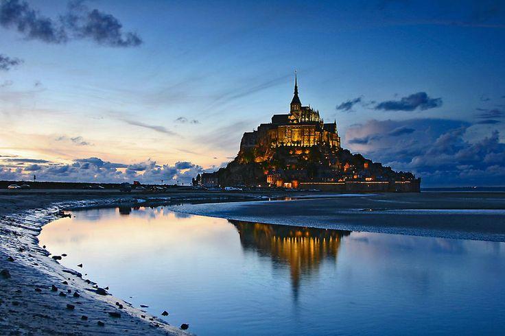 フランス Mont Saint-Michel