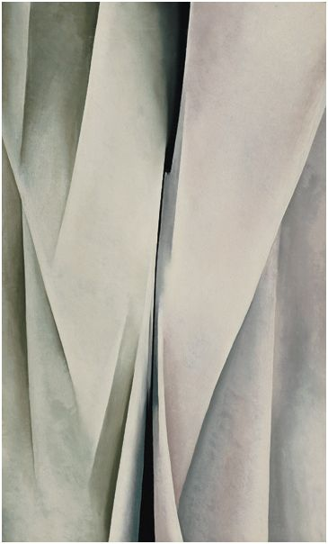 Georgia O'Keeffe, Abstraction, 1926. Oil on canvas, 30 1/4 × 18 1/16 in. (76.8 × 45.9 cm). Whitney Museum of American Art, New York; purchase  58.43.   © Georgia O'Keeffe Museum/Artist Rights Society (ARS), New York
