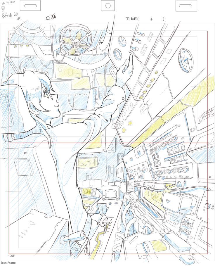 C38 - Bahi JD my Animation Layout Designレイアウト ( I only did layout for this…