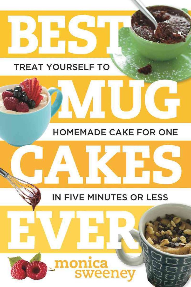 Best Mug Cakes Ever By Monica Sweeney