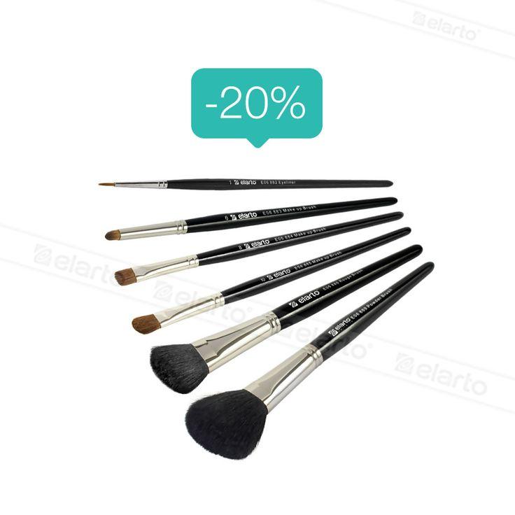 Pędzle do makijażu -20%: https://elarto.pl/akcesoria-pomocnicze/15676-elarto-pedzle-do-makijazu-20.html