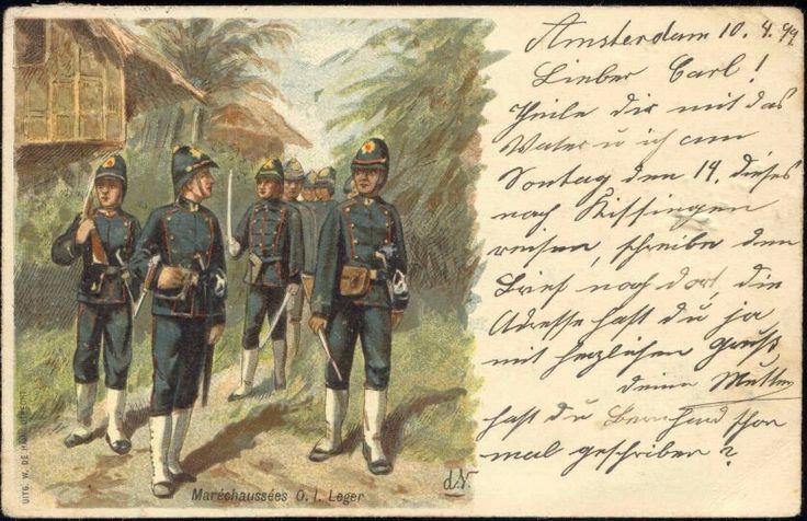Oost-Indisch leger, 1899