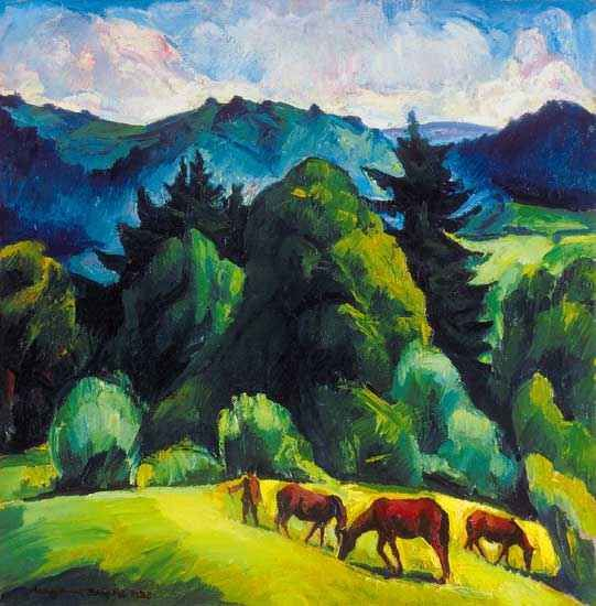 Zsögödi Nagy Imre (1893-1976) - In the Mountains, 1928