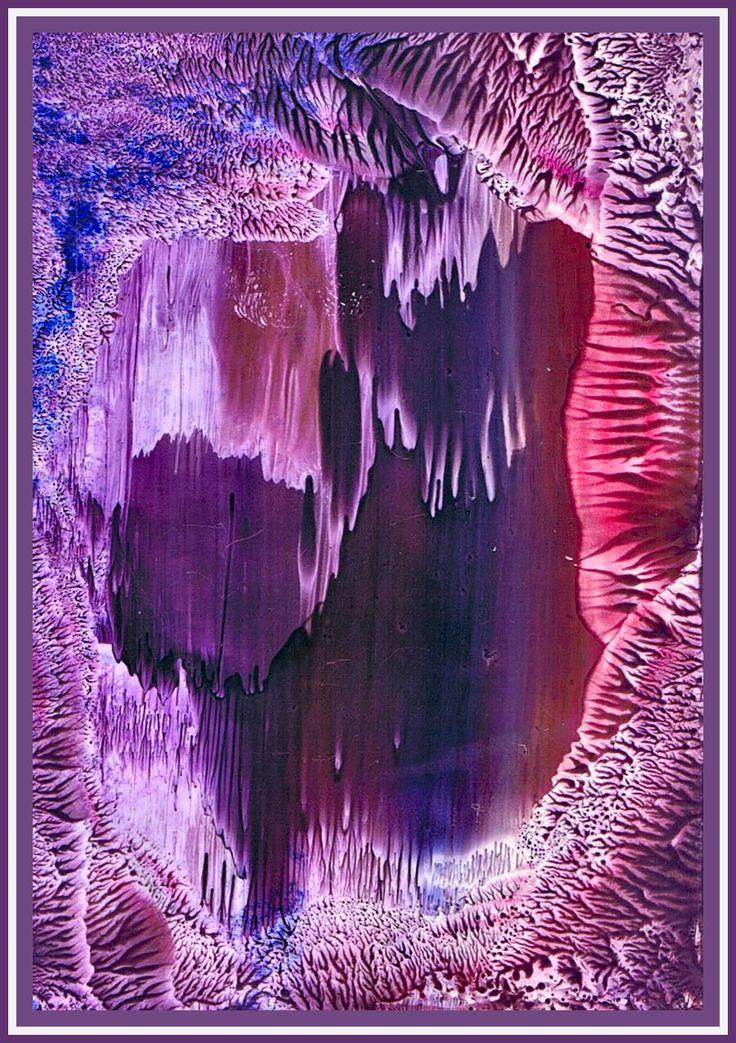 Druipsteengrotten geschilderd met bijenwas door Beika Kruid