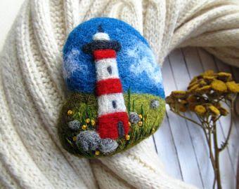 Mare regalo per suo oceano gioielli Beach Gioielli migliore amico regalo mare spilla nautico ragazza regalo spiaggia regalo Faro regalo per lei