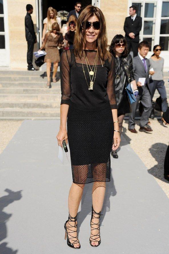 Carine Roitfeld Modern Day French Fashion Icon Girlcrush Pinterest