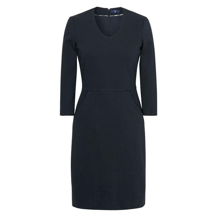 GANT Damen Piqué Kleid (32) Blau Jetzt bestellen unter: https://mode.ladendirekt.de/damen/bekleidung/kleider/sonstige-kleider/?uid=f7f8f4f5-f7dd-530d-b154-12e64ab14309&utm_source=pinterest&utm_medium=pin&utm_campaign=boards #sonstigekleider #kleider #bekleidung #women