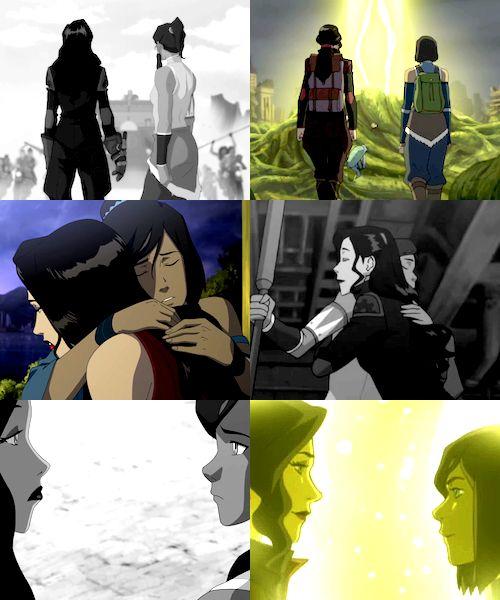 Korrasami parallels   Avatar the Legend of Korra / lok   Korra x Asami Sato   OTP