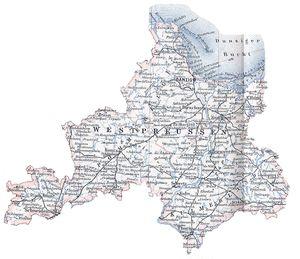 Westpreußen und Danziger Bucht 1896