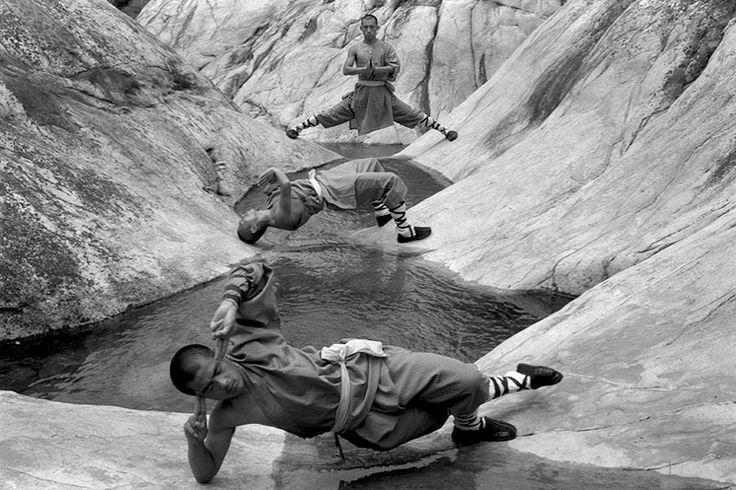 Shaolin monks by Tomasz Gudzowaty