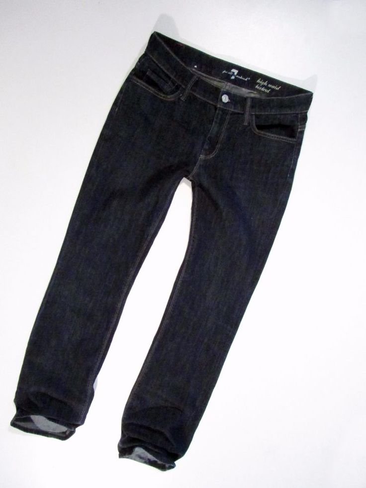 ladies  jeans  7 For All Mankind  high  waist  bootcut W29 #7ForAllMankind #BootCut