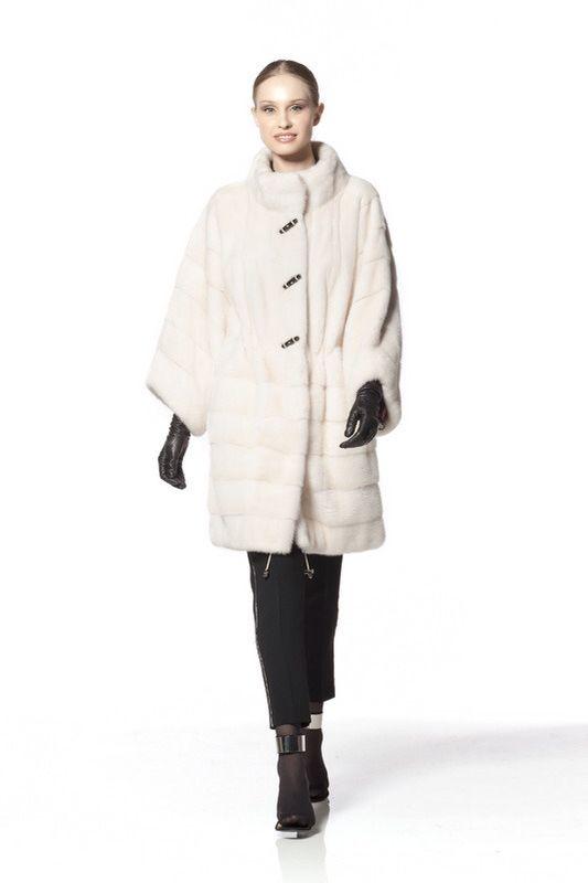Braschi Pearl Mink Fur Coat
