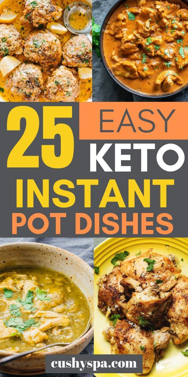 25 Easy Instant Pot Keto Recipes with Nutritional Values – #Easy #Instant #keto …
