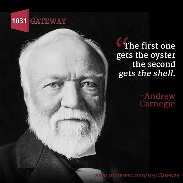 andrew carnegies ideas of progress In this getabstract summary, you will learn: why andrew carnegie believed that the distribution of wealth is a fundamental tenet of capitalism, how the law of competition influences a capitalist society, and how the rich can and should leave a permanent legacy.
