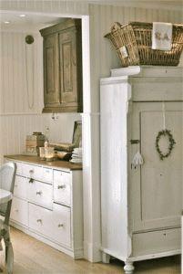 Meubels en vloeren bewerken met white wash