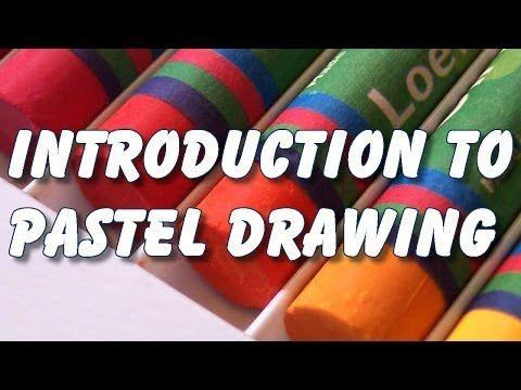 introduction to pastel drawing painting - YouTube  Misschien wel handig, lang geen krijtje vastgehouden