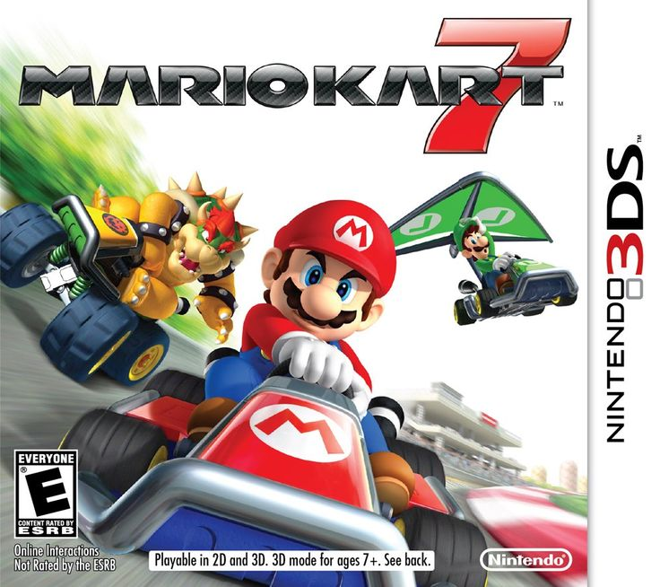 3DS Game Downloads - Mario Kart 7 Yoshi's New Island - $17.49 Each with Email Delivery #LavaHot http://www.lavahotdeals.com/us/cheap/3ds-game-downloads-mario-kart-7-yoshis-island/57019