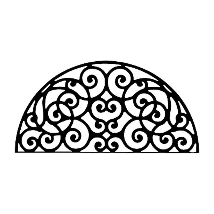 Arch Intricate | Wrought Iron Wall Decor