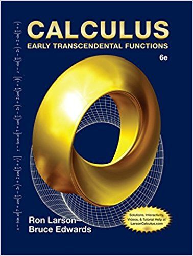 Calculus early transcendental functions 6th edition by ron larson calculus early transcendental functions 6th edition by ron larson fandeluxe Gallery