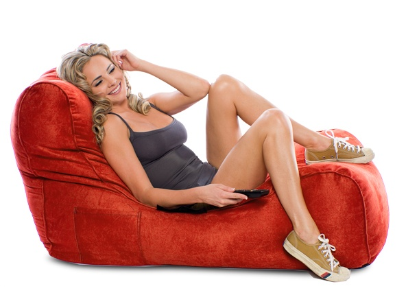 Check out the Sumo Solace bean bag chair for just $299! Perfect for lounging around in front of the tv after work! Available in 4 awesome colors and with free shipping! www.sumolounge.com