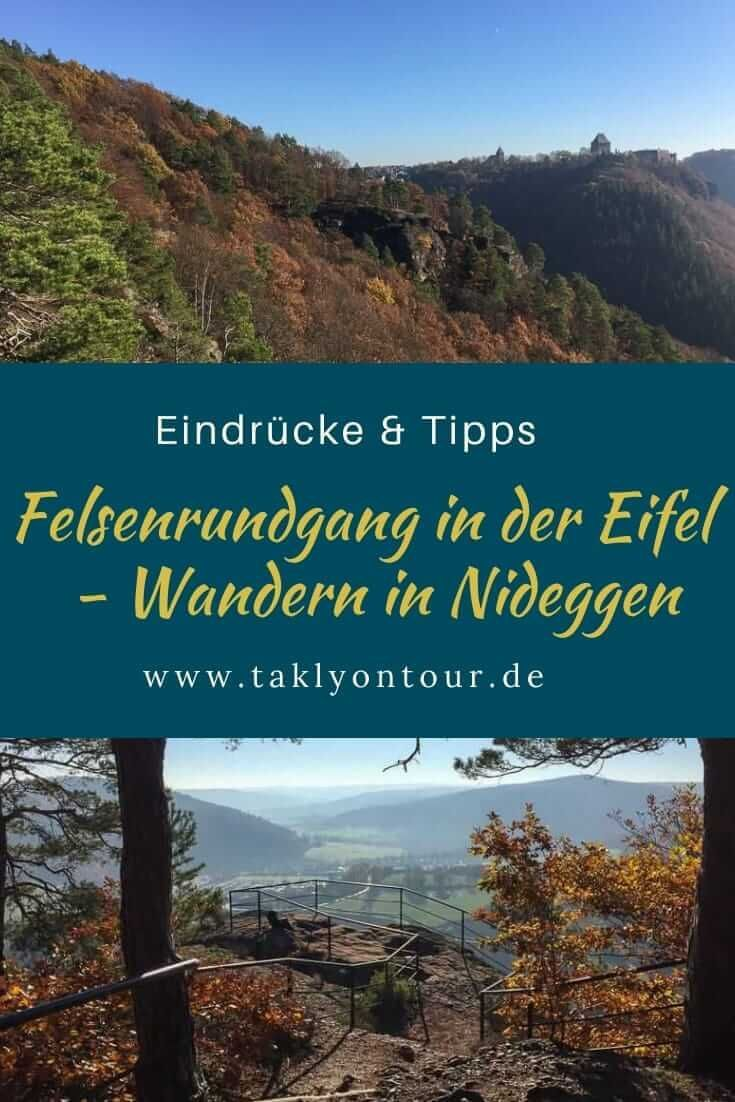 Wandern in Nideggen Ein schöner Felsenrundgang   Wandern, Ausflug ...