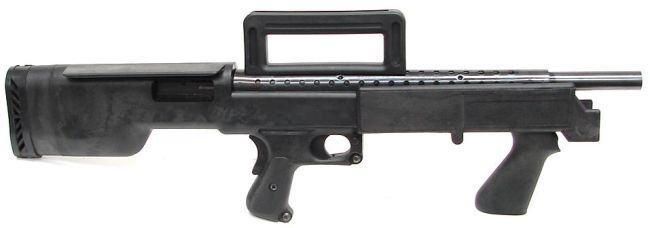 Mossberg 500 bullpup shotgun.