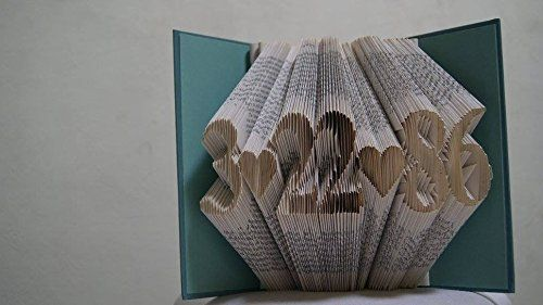 Folded Book Art - Origami Book - Unique Birthday Gift - B... https://www.amazon.com/dp/B01GOA4UTQ/ref=cm_sw_r_pi_dp_jn3HxbPTBQYS2