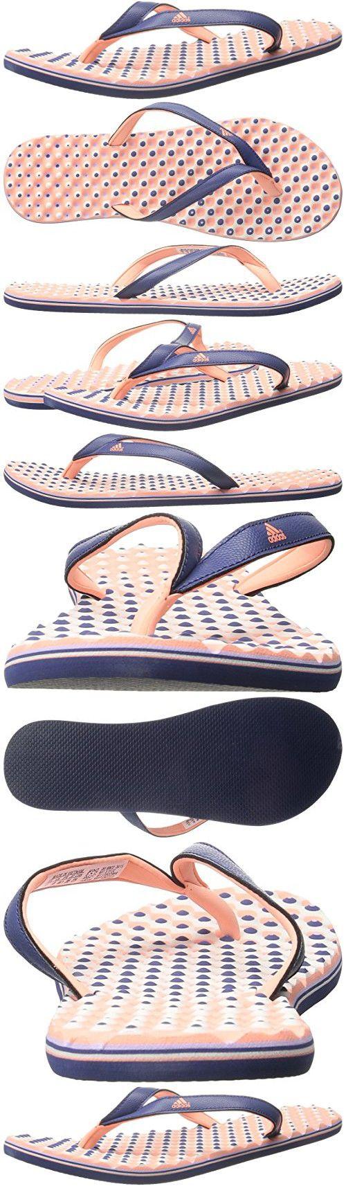 sports shoes e766d 14447 Adidas Performance Womens Eezay Dots W Athletic Sandal,Raw PurpleSun Glow  YellowGlow M US