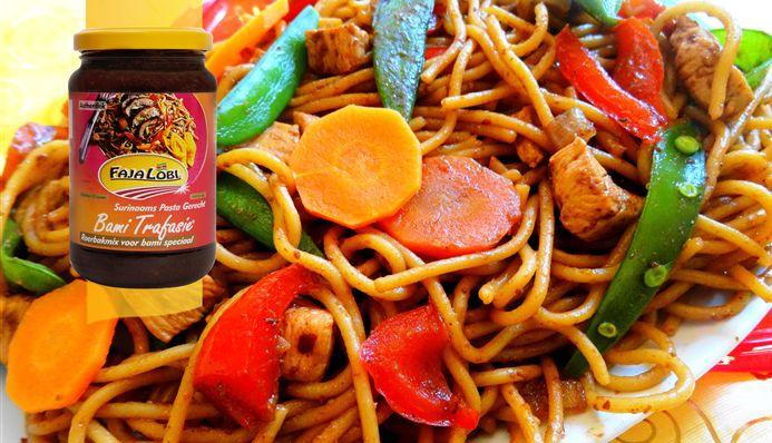 Surinaams eten – Javaanse bami