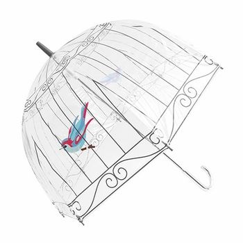 I ordered this today! Cutest umbrella I have ever seen! Can't wait to get it! Fulton Lulu Guinness Clear Birdcage Umbrella - The Fulton Umbrella company was founded in London in 1956 by inventor and engineer Arnold Fulton. The most well known brand of umbrellas and rainy day apparel in the United Kingdom. The brand has amassed a long-standing British heritage that is recognized by not only Her Majesty The Queen but by people across the world.