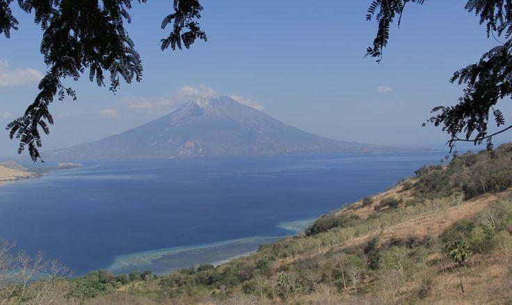 Mount Ile Api, Lewoleba, Lembata island, Indonesia