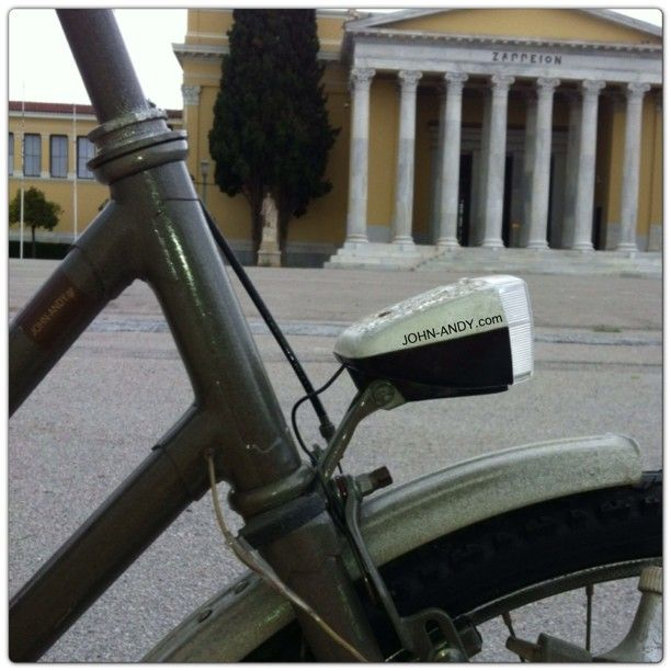 #johnandy #bicycle #zappeion #instaphotos