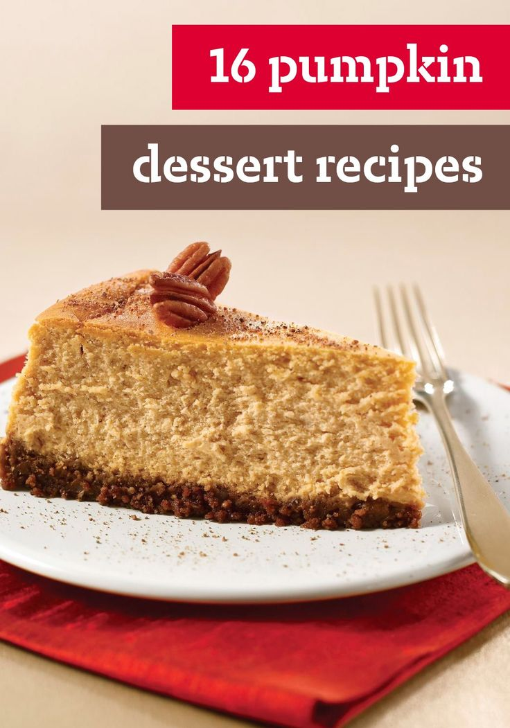 start to turn, our thoughts turn to great pumpkin desserts!: Desserts ...