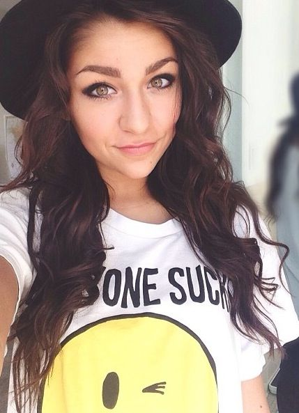 Andrea Russett! Makes awesome youtube videos, you should check them out!