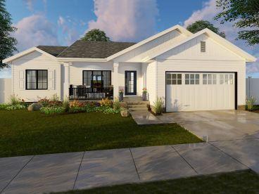 Starter Home Plan, 050H-0123