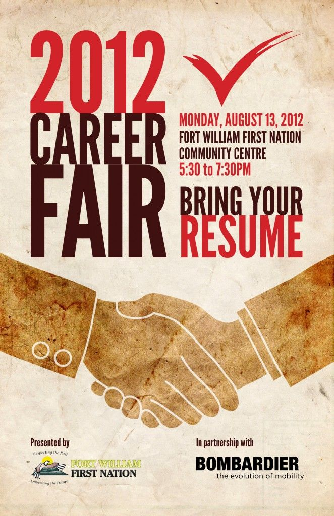 7 best images about career fair on Pinterest | Flyer template ...