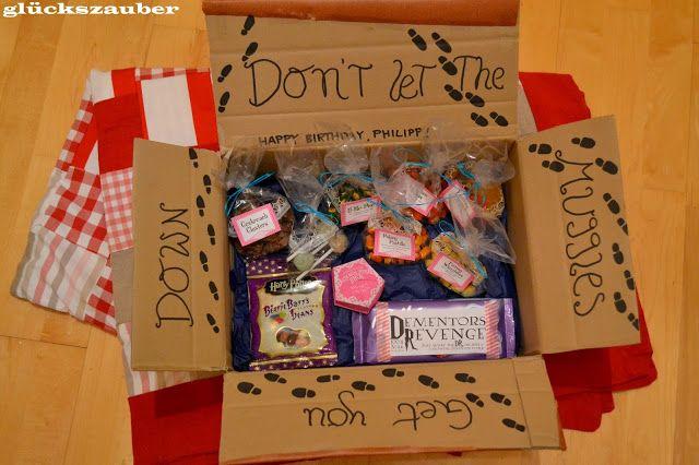 glückszauber : Harry Potter Care Paket