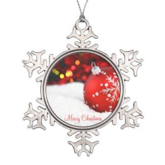Pewter Christmas Ornaments - Decorations