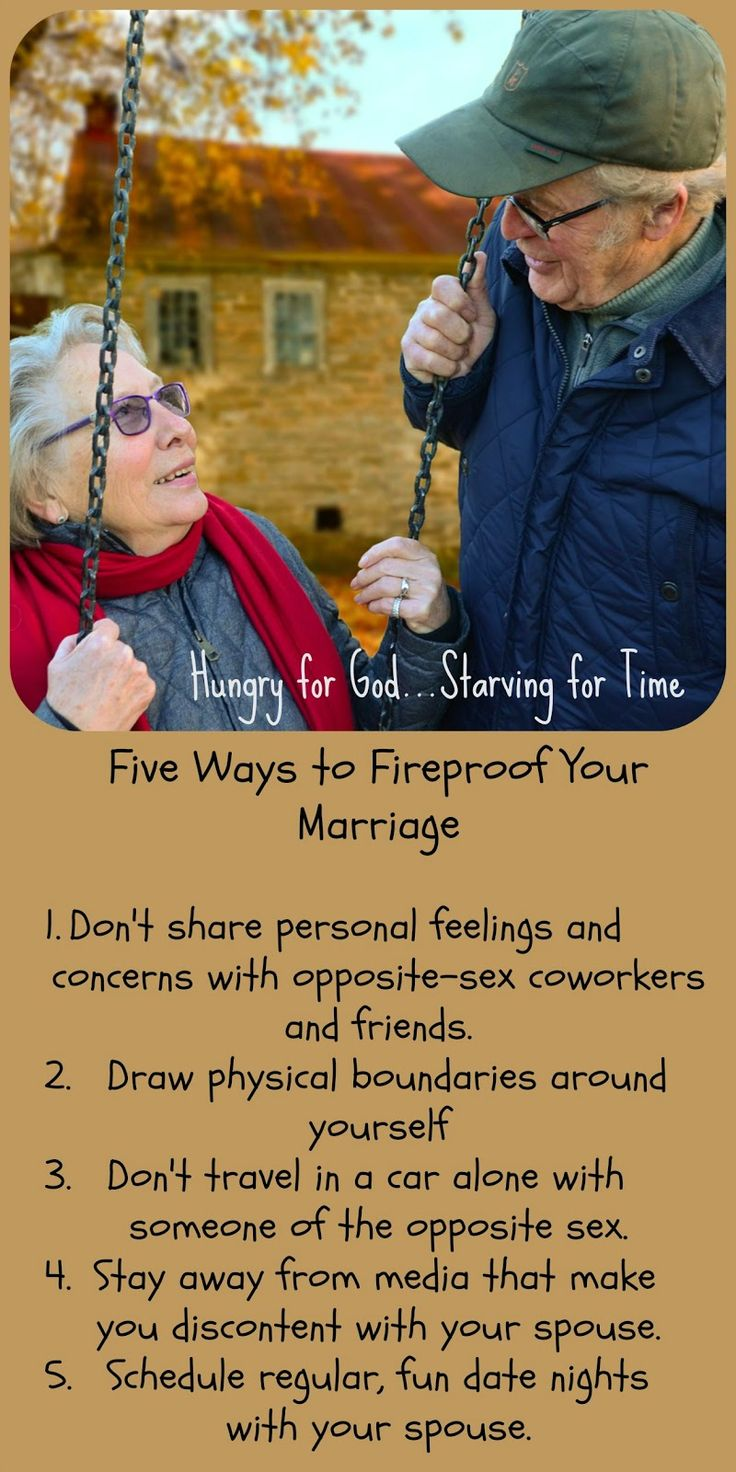 Extra-marital sex is one of the great destroyers of marriage. These simple guidelines can put a hedge of protection around your relationship. Hungry for God: The Day the House Burned Down -- 5 Ways to Fireproof Your Marriage
