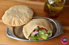Paleo - Gluténmentes vegán pita