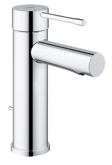 Grohe Essence New Håndvaskbatteri m/Bundventil, Krom