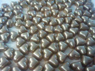 Bronze Caramel Hearts-gorgeous gooey salted caramel in milk chocolate