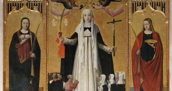 870px-3481_Taggia_(Italie)_-_Rétable_de_Ste_Catherine_de_Sienne_(Attr.L.Brea_vers_1490)