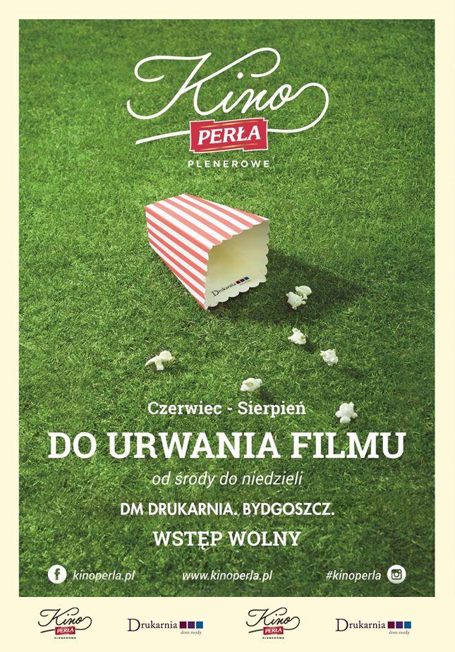 Podobnie jak rok temu, znów będziemy w Bydgoszczy!  Zapraszamy na seanse na plac przy Domu Mody Drukarnia!  #kinoperla #kinoplenerowe #kino #bydgoszcz
