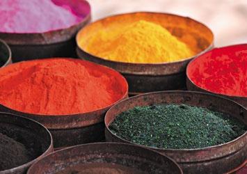 pigments - Quitos Market - Ecuador
