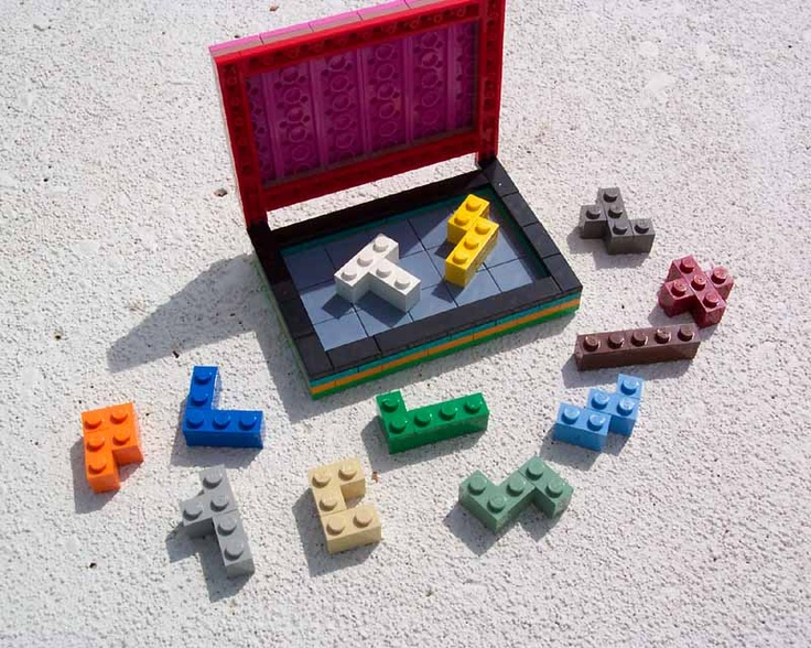 Diy pentominoes from legos school project ideas for Diy lego crafts